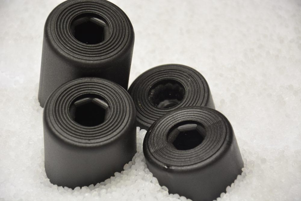 Piedini per mobili rocche e stampaggio conto terzi - Maniglie plastica per mobili ...
